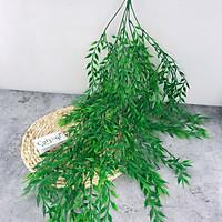 Chùm Cây Liễu Nhựa 80cm Trang Trí