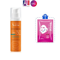 Kem chống nắng cho da nhờn mụn Avene Cleanance Protection SPF50+ 50ml TẶNG mặt nạ Sexylook (Nhập khẩu)