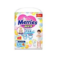 Tã/bỉm quần Merries size L - 44 + 6 miếng (Cho bé 9 - 14kg)