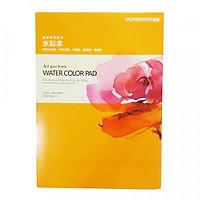 Giấy vẽ màu nước Water Color Pad định lượng 230g A4 (Giao mẫu ngẫu nhiên)