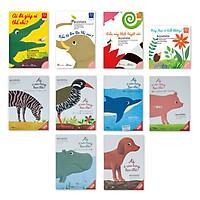 Combo 10 cuốn Ehon Nhật bản Phát triển kĩ năng sống cho trẻ: Bộ sách những mẩu chuyện nhỏ Ehon -Accototo & Bộ sách kiến thức