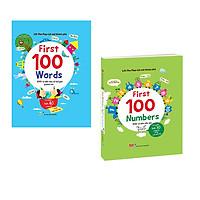 Lift-The-Flap - Lật Mở Khám Phá - First 100 Numbers + First 100 Words