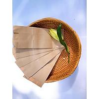 100 túi giấy kraft nhật S1 không quai đựng đồ ăn 8,5x4x19cm