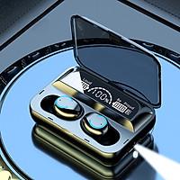 Tai nghe bluetooth F9 V5.1, tai nghe không dây cảm ứng thông minh, màn hình hiển thị pin sắc nét- Hàng nhập khẩu