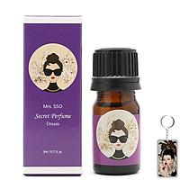 Nước hoa vùng kín Mrs.sso Secrect Perfume cao cấp Hàn Quốc (Mùi Dream) 5ml tăng kèm móc khóa
