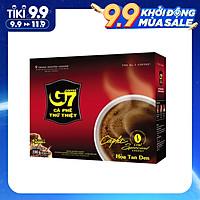 Cà phê G7 hòa tan đen - Hộp 15 gói 2gr