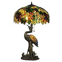 Đèn bàn Tiffany cao cấp hình con hạc
