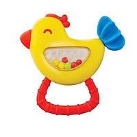 Đồ chơi xúc xắc cầm tay hình chú chim non WINFUN WF000240 cho bé sơ sinh 0 tháng tuổi luyện tay và thị giác - BPA free