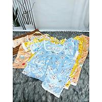 ồ Bộ , Đồ Ngủ Satin loại 1 quần dài Rumyh02 Họa tiết dễ thương ảnh chụp trực tiếp , Size M L