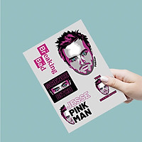 Jesse Pink Man - Single Sticker hình dán lẻ Breaking Bad