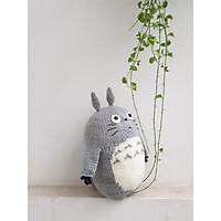 Thú Bông Totoro handmade Dori bằng len Canada 32cm