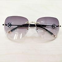 Mắt kính nữ kính mát thời trang ốc gọng hoa MS07