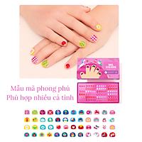 Nail Sticker - Miếng Dán Móng Tay bộ 540 miếng hàng đẹp dành cho bé từ 3 tuổi - For little sweet girl