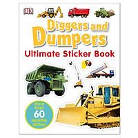 Ultimate Sticker Book Diggers And Dumpers