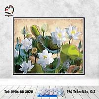 Tranh tô màu theo số DIY Painting (40*50cm) có khung căng sẵn