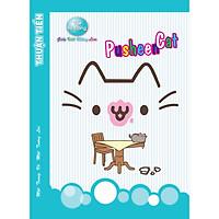 Lốc 10 Quyển Tập 96 trang PUSHEEN CAT (mèo ú) mẫu ngẫu nhiên