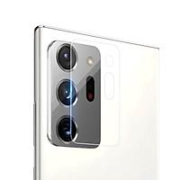 Bộ 2 Miếng dán kính cường lực Camera mỏng 0.22mm cho Samsung Galaxy Note 20 Ultra hiệu Nillkin InvisiFilm (độ cứng 9H, chống trầy, chống chụi & vân tay, bảo vệ toàn diện) - Hàng chính hãng