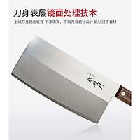 Dao chặt cao cấp Sumikama 195mm bản rộng chuyên chặt/thái sắc bén - Hàng nội địa Nhật Bản
