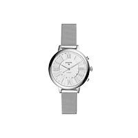 Đồng hồ thông minh nữ Fossil Hybrid Smartwatch Jacqueline dây thép không gỉ FTW5019 - màu bạc - Hàng chính hãng