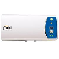 Bình nước nóng Ferroli Verdi AE20L, 3 công suất, thanh đốt siêu bền, hiển thị nhiệt độ, 2.500W - Hàng chính hãng