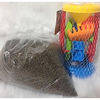 Combo đồng hồ và 3.1 kg hạt muồng nguyên sinh sấy khô cao cấp cho bé vui chơi
