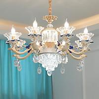 Đèn chùm pha lê hiện đại trang trí nội thất siêu đẹp - Kèm bóng đèn LED chuyên dụng