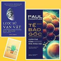 Combo Tế Bào Gốc: Khám Phá Cùng Nhà Khoa Học và Lược Sử Vạn Vật ( Tặng Kèm Sổ Tay Xương Rồng)