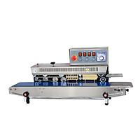 Máy hàn miệng túi liên tục & in date FRM-980I,  tích hợp hai chức năng trong một hàn miệng túi và in date cho mọi bao bì, tốc độ cao, hàng nguyên đai nguyên kiện