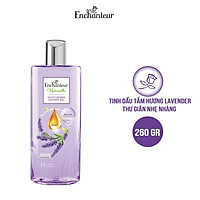 Sữa tắm dưỡng da Enchanteur Naturelle hương hoa Lavender 260gr/Chai