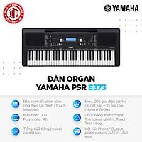 Đàn Organ Yamaha PSR-E373 - Màu đen - Hàng chính hãng