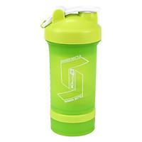 Bình lắc Shaker Bottle 4 trong 1 - Bình nước thể thao tập gym chính hãng MDBuddy