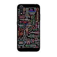 Ốp Lưng in cho Samsung Galaxy A01 Mẫu Màu Sắc 3 - Hàng Chính Hãng