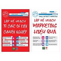 Combo Kỹ Năng Lập Kế Hoạch Trong Công Việc : Lập Kế Hoạch Marketing Hiệu Quả + Lập Kế Hoạch Tổ Chức Sự Kiện Chuyên Nghiệp (Bộ 2 Cuốn Sách Giúp Công Việc Đạt Năng Suất Tối Đa / Tặng Kèm Bookmark Happy Life)
