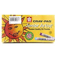 Sáp Dầu Sakura Craypas Junior Artist 16 Màu