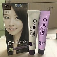 Nhuộm thảo dược phủ bạc thời trang (Hàn Quốc) Welcos confume hair color 5N 2 x 60g