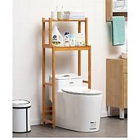 Kệ sau máy giặt - toilet nhà vệ sinh gỗ tre tự nhiên tiết kiệm không gian thương hiệu MuMaRen nhập khẩu