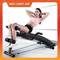 Ghế tập cơ bụng - ghế tập thể dục - có kèm tay cầm tập cơ tay
