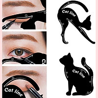 Dụng Cụ Hỗ Trợ Trang Điểm Mắt Cat Line, Kẻ Chính Xác Đường Line, Kết Hợp Với Phấn Mắt Pha Màu Mắt Chuẩn, Nhỏ Gọn Mang Theo, Dễ Dùng, Tiện Dụng Với Nhiều Phong Cách Makeup Tự Nhiên Trong Các Sự Kiện Hoàn Cảnh Khác Nhau, Chất Liệu Bền, Dễ Tái Sử Dụng Nhiều Lần