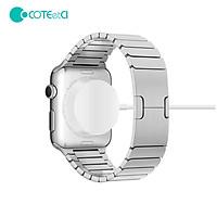 Dock sạcđế sạc không dây dành cho Apple Watch series 3 4 5 6 hiệu Conteetci (sạc được tất cả phiên bản Apple Watch,hít nam châm, chip sạc thông minh) - hàng nhập khẩu