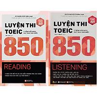 Combo Luyện Thi Toeic 850 Của Jo Gang–Soo ( Luyện Thi Toeic 850 - Reading + Luyện Thi Toeic 850 - Listening ) (Tặng kèm Tickbook)