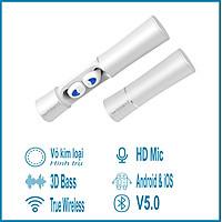 Tai Nghe Bluetooth True Tireless CONVI CV20 - bluetooth 5.0, 3D bass, HD mic, tổng thời gian sử dụng 15 giờ, phù hợp iPhone / Samsung / Oppo / Vivo - Hàng Chính Hãng