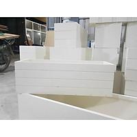 Chậu nhựa composite kích thước 50x20x20cm, 60x20x20 cm và 70x25x25 cm cực bền
