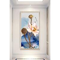 Tranh canvas Hoa Sen-Tranh Trang Trí Treo Tường