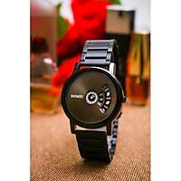 Đồng hồ nam Skmei 1260 dây thép đen