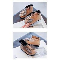 giày bốt bé gái size 26-36 da lộn mềm xinh