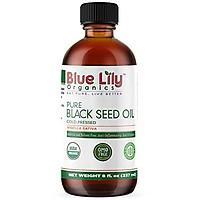 100% Black Seed Oil USDA Certified Organic Highest Thymoquinone (2.4%). Turkish Nigella Sativa Seed Oil. Virgin Cold Pressed - Rich Source of Omega 3, 6, 9.