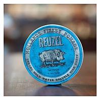 Gel Tạo Kiểu Tóc Reuzel Blue Strong Hold Water Shohluble 113g Chính Hãng