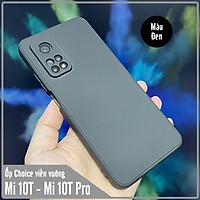 Ốp lưng cho Xiaomi Mi 10T - Mi 10T Pro - Redmi K30S Choice viền vuông dẻo lót nhung che camera