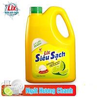 Nước rửa chén Siêu sạch Lix Hương Chanh 1.4Kg