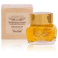 Kem dưỡng trắng da tinh chất vàng và thảo dược Beauskin Placenta Gold Cream Hàn quốc (50g) và 1 kính mắt